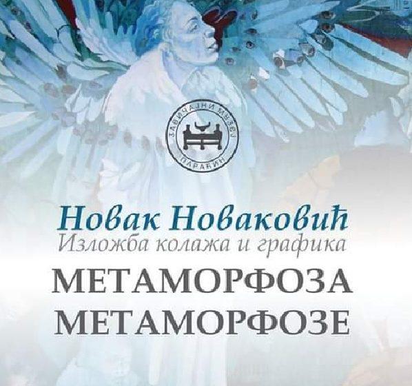 """""""Metamorfoza metamorfoze"""" Novaka Novakovića u galeriji Kulturog centra"""